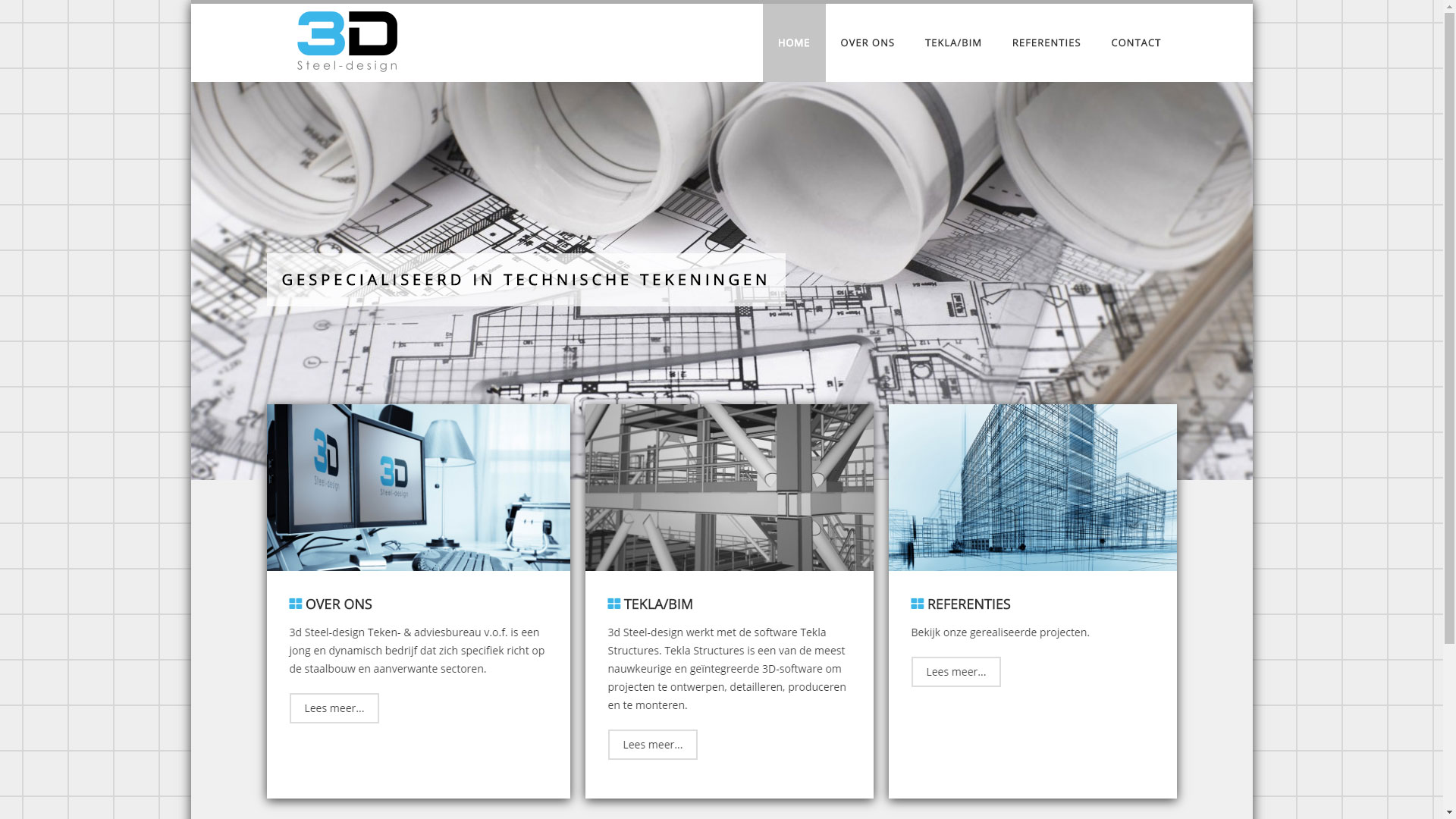 Website 3D Steel-design