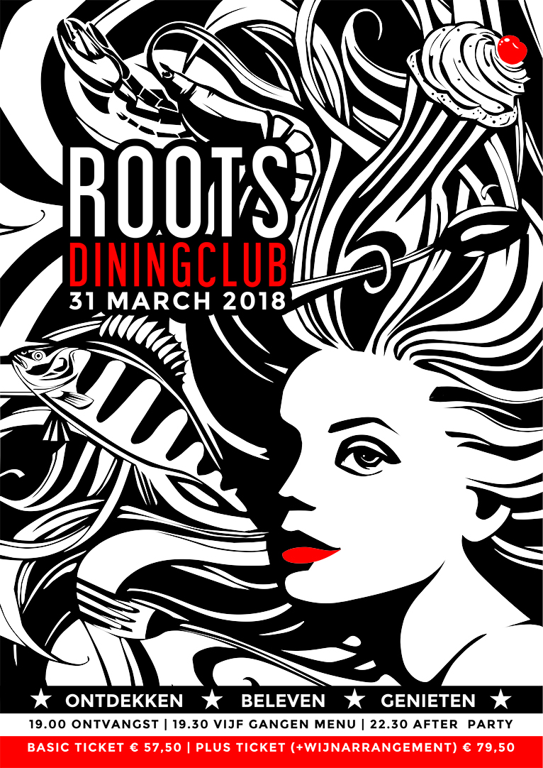 Roots Dining Club 8.0 - Poster