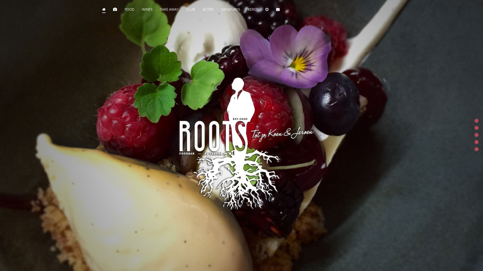 Website Roots Foodbar